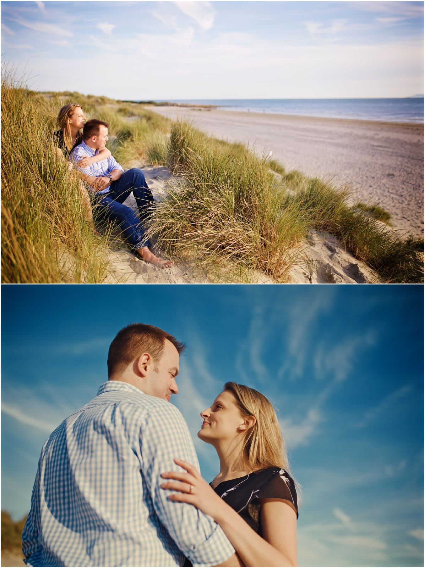 West Wittering Beach Engagement Photographer