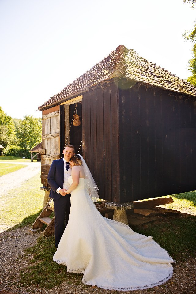 Weald & Downland Open Air Museum wedding photographer